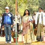 Flag Hoisting by Chief Guest